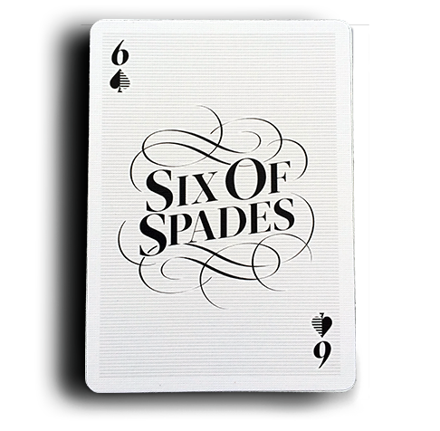 Image result for SIX of Spades card