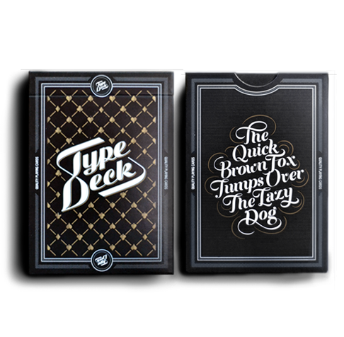 THE TYPE DECK – 2 PACKS